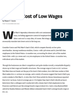 The High Cost of Low Wages