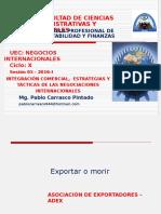 Semana INTEGRACIÓN COMERCIAL-ESTRATEGIAS Y TACTICAS EN NEGOCIACIONES05 Integración Comercial-estrategias y Tacticas en Negociaciones