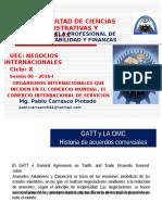 SeOrganismos Internacionales QUE INCIDENTAL EN EL COMERCIO MUNDIALmana 06 - Organismos Internacionales Que Inciden en El Comercio Mundial