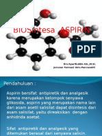 Sintesis Aspirin