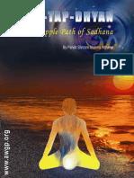 861-Tripple Path of Sadhana Jap Tap Dhyan