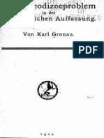 K. Gronau, Das Theodizeeproblem in der altchristlichen Auffasung, Tübingen 1922
