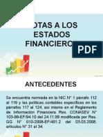 FORMULACIÓN DE LOS ESTADOS FINANCIEROS