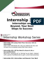 internship 301 workshop video