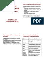 Organizational Intelligence Overview