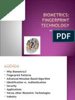 Biometrics Fingerprint Devices