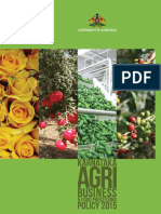 Agriculture Policy 2015