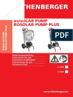 Ba Rosolar Pump Und Plus 6.1450 6.1460 Paket a-0710