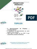 Introdução ao projeto de produtos e serviços
