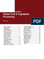 Global Fruit and Vegetables Processing