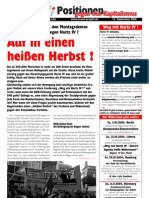 "Positionen gegen den Kapitalismus 2004-09 ""Heißer Herbst '04"""