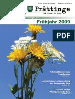 2009-01 Tuxer Prattinge Ausgabe Frühjahr