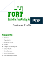 Company Profile for Client 060716 - Fort Protective Coating