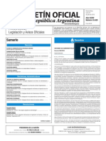 Boletín Oficial de la República Argentina, Número 33.425. 25 de julio de 2016