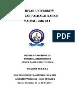 Bba 2013-1014 Syllabus