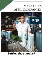 Malaysia's Successful Companies - 24 July 2016