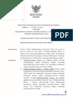 118 PMK 2016 Pelaksanaan UU No 11 thn 2016 Pengampunan Pajak.pdf