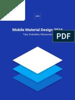 Uxpin Mobile Material Design 2016
