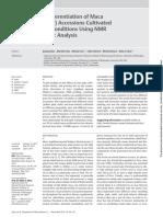 Metabolomic Differentiation of Maca (Lepidium meyenii) Accessions Using NMR and Chemometric.pdf