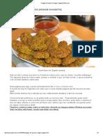 Nuggets de Legumes [Veggie Nuggets] _ Petiscana
