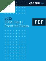 FRM Part1 Practice Exam