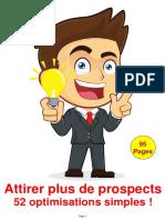 Attirer Plus de Prospects