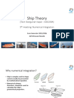 Ship Theory - Numerical Integration