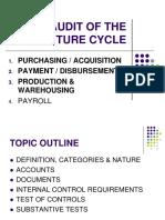 5 - Audit of Purchasing Disbursement Cycle