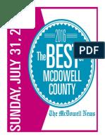 Best of McDowell 2016