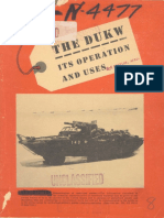 The DUKW Its Operation and Uses