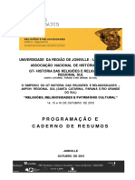 Caderno de Programacao e Resumo