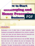 How to Start Beekeeping and Honey Processing Business