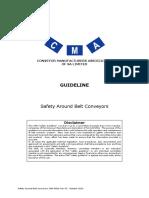 CMA Guideline - Safety Around Belt Conveyors Rev 03-2013