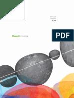 Zamil Industrial Annual Report - 2014