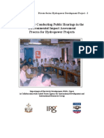 Manual for Conducting Public Hearings