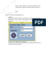 Tutorial Pemrograman Client Server