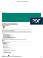 Data Science Curriculum From Microsoft _ EdX