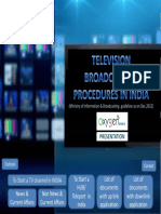 How to start TV channel in India? MIB Procedures