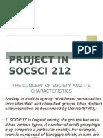 Project in Socsci 212