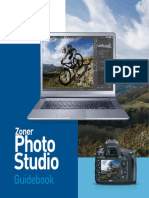 Zoner Photo Studio Guidebook
