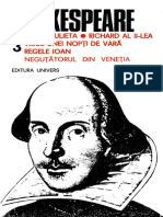 SHAKESPEARE, William - Opere Complete (Vol.3)