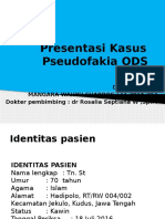 Laporan Kasus  Pseudofakia ODS.pptx