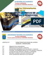 IV Caracteristicas Fisicas de Las Rocas Reservorio o Almacen