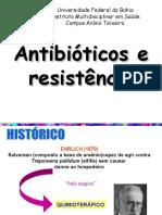 Antibioticos e Mecanismos de Resistencia Jessica