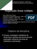 Regressao Linear Multipla