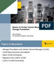 Basics of Veritas Volume Manager 043007