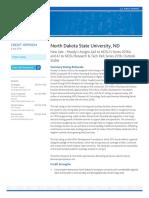 Moodys Report NDSU