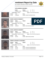 Peoria County Jail Booking Sheet for July 23, 2016