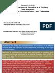 Jurnal Reading Komplikasi Sinusitis Pada Rumah Sakit Tingkat Tiga - Tipe, Karakteristik Pasien, Dan Hasil
