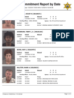 Peoria County Jail Booking Sheet for July 23 2016